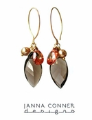 Gold Sachi Earrings by Janna Conner