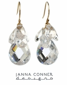 Gold Clara Earrings by Janna Connor