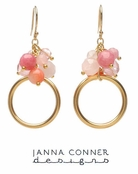 Gold Small Vita Earrings by Janna Conner