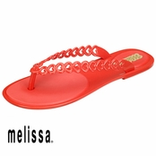 Red Melissa Love Flop Sandals