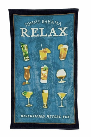 Diversified Mutual Fun Beach Towel by Tommy Bahama