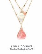 Gold Capri Necklace by Janna Conner