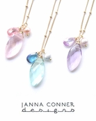 Gold Sachi Necklace by Janna Conner