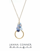 Gold Vita Necklace by Janna Conner