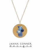 Gold Kalani Necklace by Janna Conner