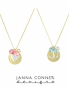 Gold Kaylyn Necklace by Janna Conner