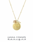 Gold Mairtin Necklace by Janna Conner