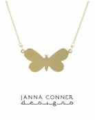 Gold Truett Necklace by Janna Conner