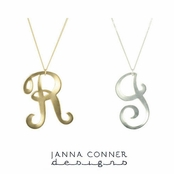 XL Initial Necklace by Janna Conner