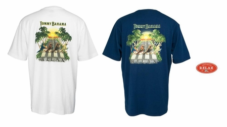 Parrot Walk Short Sleeve Tee by Tommy Bahama
