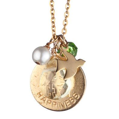 Happiness Charm Necklace by Danielle Stevens
