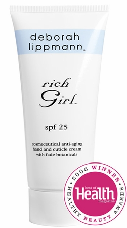 Rich Girl Hand and Cuticle Cream SPF 25 by Deborah Lippmann