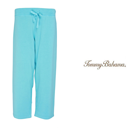 Alpine Pool Very Terry Straight Leg Crop Pants by Tommy Bahama