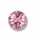 Pink CZ Earrings