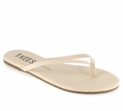 Tkees Foundations Collection  Seashell Leather Sandals