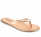Tkees Shadows Collection Beach Pearl Leather Sandals