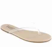 Tkees Sheer Foundations Collection Sheer 01 Leather Sandals