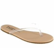 Tkees Sheer Foundations Collection Sheer 02 Leather Sandals