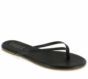 Tkees Liners Collection Sable Leather Sandals