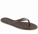 Tkees Liners Collection Stone Leather Sandals