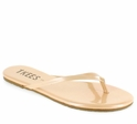 Tkees Glosses Collection Opal Leather Sandals