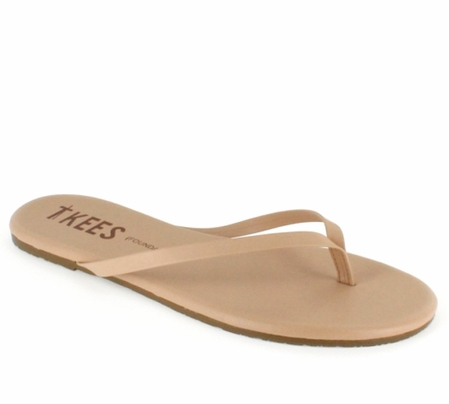 Tkees Foundations Collection  Sunkissed Leather Sandals