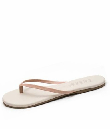 Tkees French Pedicure #1 Leather Sandals