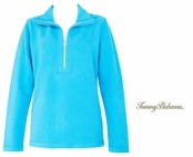 Blue Atoll Aruba Half Zip Sweatshirt by Tommy Bahama