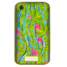 Lilly Pulitzer iPhone 3G 3GS Cover - Nice to See You