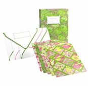 Lilly Pulitzer Note Card Book - Desert Tort