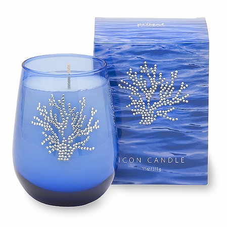 Crystal Coral Icon Candle by Primal Elements