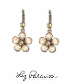 Flores Rose Dangling Flower Earrings by Liz Palacios