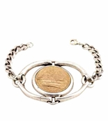 Low Luv by Erin Wasson Horse Bit and Coin Bracelet