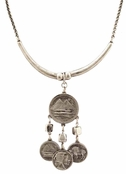 Low Luv by Erin Wasson Coin Chandelier Necklace