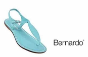 Turquoise Dusty Vintage Mistral Sandals by Bernardo