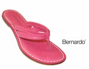 Miami Brights Park Avenue Pink Nappa Leather Sandals by Bernardo