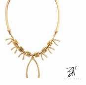 Belle Noel Multi Wishbone Necklace