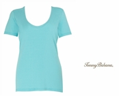 Waterfall 2 Indio Tee Scoop Neck T Shirt by Tommy Bahama