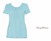 Spring Sky Pineapple Treat Tee by Tommy Bahama