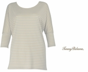 Twill Malina Stripe Tee by Tommy Bahama