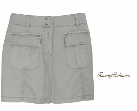 Vapor Calvary Twill 5 Inch Patch Pocket Shorts by Tommy Bahama