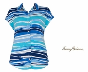 Tambour Rising Tide Top by Tommy Bahama