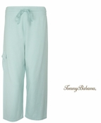 Spring Sky Alani Terry Cropped Pants by Tommy Bahama