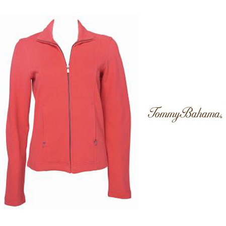 Melon Berry French Kiss Jacket by Tommy Bahama