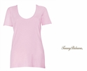 Crystal Rose Indio Tee Scoop Neck T Shirt by Tommy Bahama