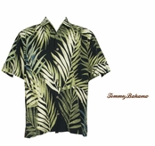 Fern Notice Silk Camp Shirt by Tommy Bahama