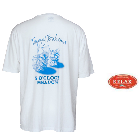 White Five O'Clock Tee by Tommy Bahama