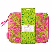 Lilly Pulitzer iPad Sleeve - Netbook Sleeve -Nice to See You
