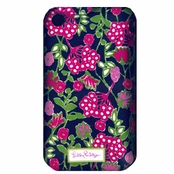 Lilly Pulitzer iPhone 3G 3GS Cover - Navy Bloomers