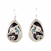 Mima & Oly Dolphin Drop Earrings by Far Fetched